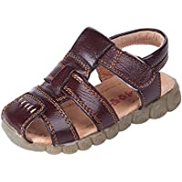 E Support Unisex Boy's Girl's Summer Casual Closed Toe Outdoor Sport Sandal Beach Shoes Toddler Little Kid Big Kid Cute Sandals
