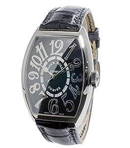 フランクミュラー FRANCK MULLER カーベックス 自動巻 メンズ 腕時計 5850SCREL-BLK-EN (代引き不可)[並行輸入]