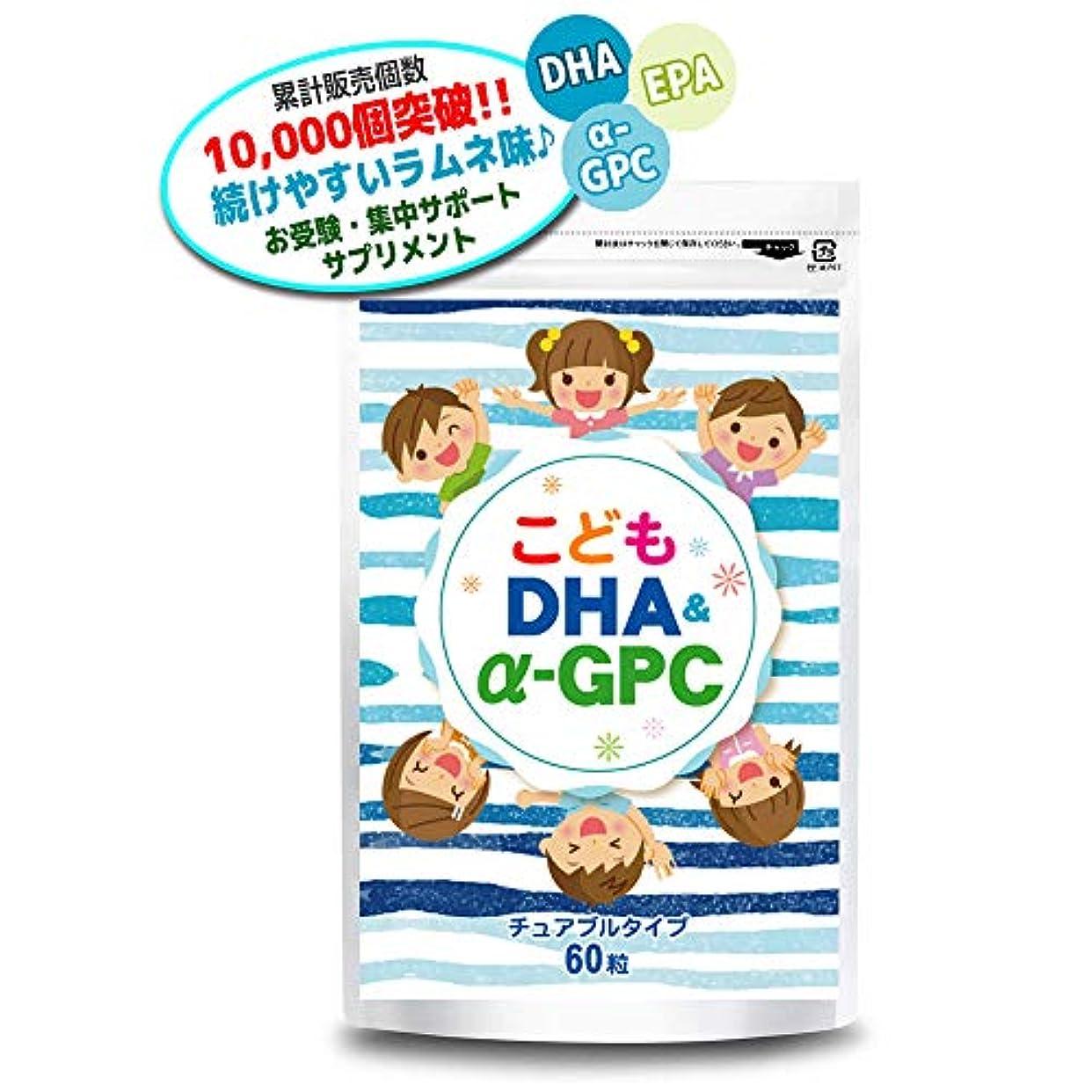 レオナルドダコンテンポラリー小麦粉こども DHA&α-GPC DHA EPA α-GPC ホスファチジルセリン 配合 【集中?学習特化型サプリメント】 60粒約30日分