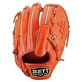 ZETT(ゼット) 硬式グラブネオステイタス投手用 BPGB12411 Dオレンジ(5800) LH(右投用)