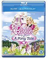 Barbie & Her Sisters in a Pony Tale [Blu-ray] [Import]