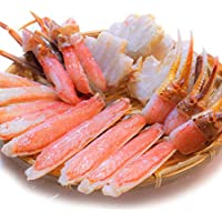 黒帯 ギフトセット 生ズワイガニ ポーション 1kg 訳あり 特大 生 ずわい蟹 かに 蟹 ズワイガニ むき身 良品選別済 かに鍋 かにしゃぶ