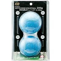 (ビジョンクエスト) VISION QUEST 野球 野球用軟式ウェイトボール B号球 VQ-B0411-BB