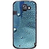 CaseMarket 【ポリカ型】 docomo らくらくスマートフォン2 F-08E ポリカーボネート素材 ハードケース [ コールドモーニング ガラスの水滴 ]