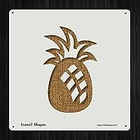 パイナップルFood Fresh Fruit Frutスタイル16169DIYプラスチックステンシルアクリルMylar再利用可能な