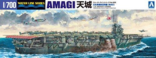 1/700 ウォーターライン No.225 日本海軍航空母艦天城