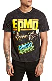 THE RAIL トップス Tシャツ The Rail EPMD T-Shirt Grey Charc [並行輸入品]