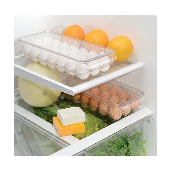 InterDesign 冷蔵庫用 卵入れ エッ...の紹介画像3