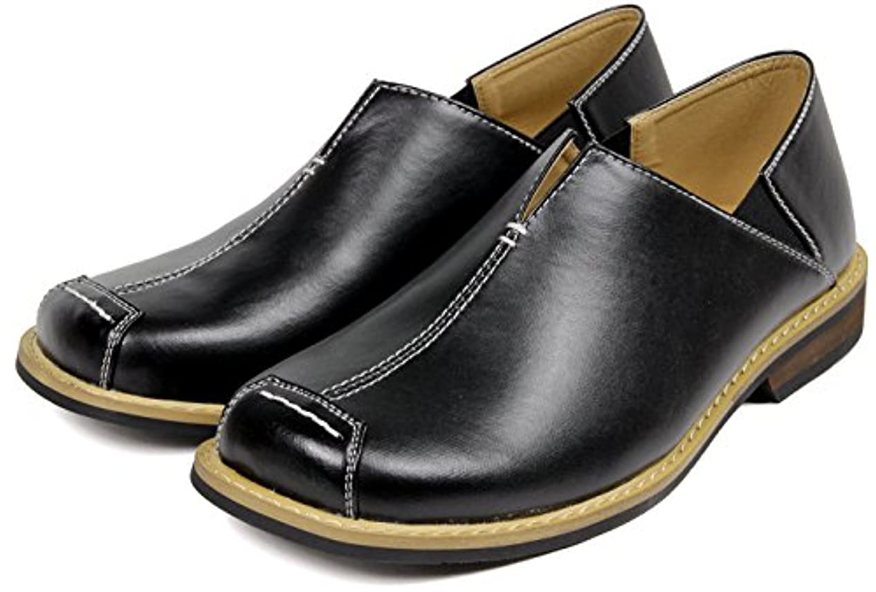 疲労マイルド嘆願(ブラジリアン) Brazylian かかとが踏める カジュアル スリッポン メンズ 軽量 柔らかい おしゃれ 紳士靴