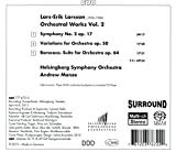 ラーシュ=エーリク・ラーション:管弦楽作品集 第2集[SACD-Hybrid] 画像