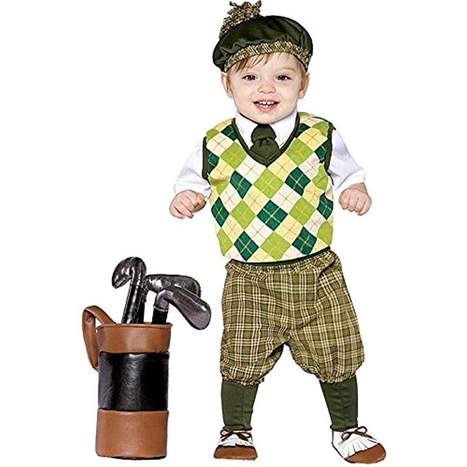 衣装確認する代表してFuture Golfer Infant / Toddler Costume 将来のゴルファーの幼児/幼児コスチューム サイズ:Infant (18-24M)