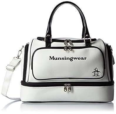 [マンシングウェア] MUNSINGWEAR ボストンバツグ MQ2192 N921 ((N921)ホワイト)