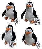 【magoods】ペンギンズ ぬいぐるみ 4種セット【隊長 / Skipper、コワルスキー / Kowalski、リコ、新人 /Private】 [並行輸入品]