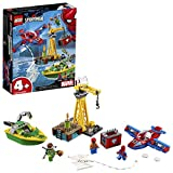 LEGO Marvel Spider Man Spider-Man: Doc Ock Diamond Heist 76134 Building Kit (150 Piece)