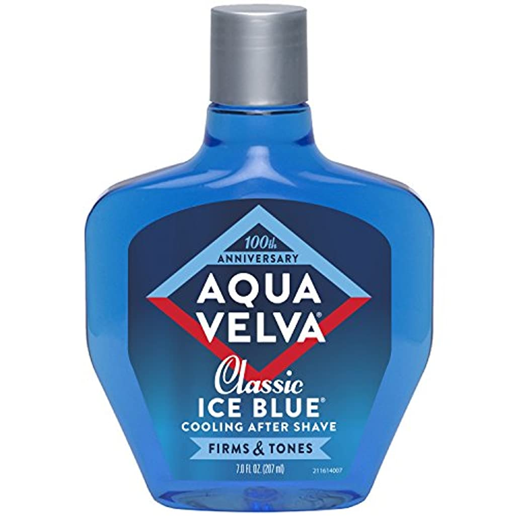 折スプリット悪用Aqua Velva Cooling After Shave Classic Ice Blue 198g (並行輸入品) [並行輸入品]