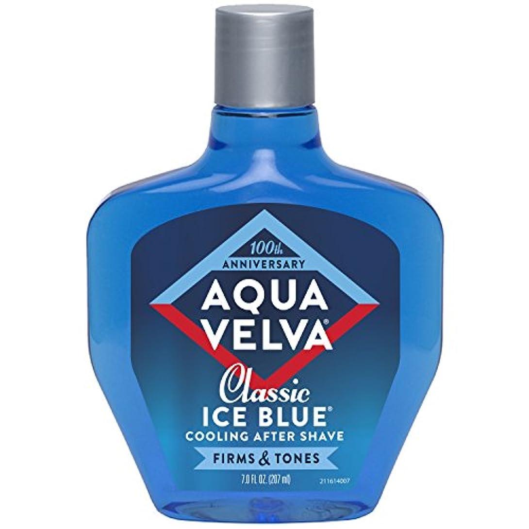オフェンス涙収まるAqua Velva Cooling After Shave Classic Ice Blue 198g (並行輸入品)