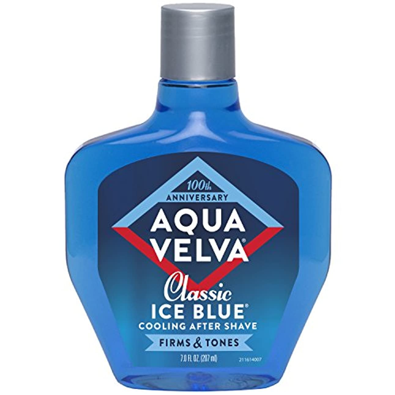 許容抗生物質追放するAqua Velva Cooling After Shave Classic Ice Blue 198g (並行輸入品)