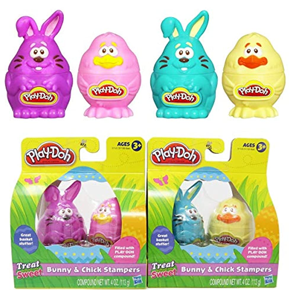 Play-Doh Easter Bunny & Chick Stampers Great Basket Stuffer