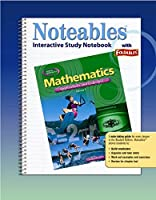 Mathematics: Applications and Concepts, Course 3, Noteables: Interactive Study Notebook with Foldables (MATH APPLIC & CONN CRSE)