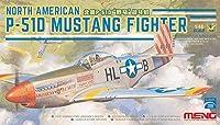 Montモデル1/ 48North American P - 51dマスタングFighterプラスチックmenls-006