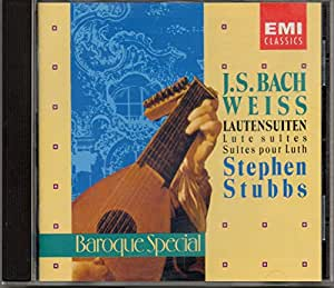 Bach/Weiss;Lute Suites