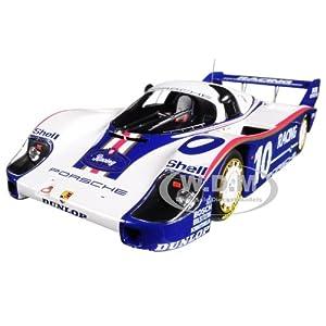 Porsche 956K #10 Jochen Mass Winner 200 Miles Von Nurnberg Limited Edition to 504pcs 1/18 Diecast Model Car by Minichamps サイズ : 1/18 [並行輸入品]
