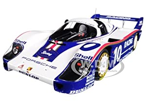 Porsche 956K #10 Jochen Mass Winner 200 Miles Von Nurnberg Limited Edition to 504pcs 1/18 Diecast Model Car by Minichamps サイズ : 1/18 [並行輸入品]