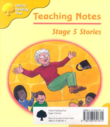 Oxford Reading Tree: Stage 5: Storybooks: Pack (6 books, 1 of each title)の詳細を見る