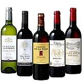 15年連続ワインコンクールでメダル獲得のシャトー・ペイ・ラ・トゥール含む シャトーワイン5本セット 750ml×5