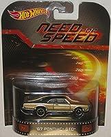 Hot Wheels Need For Speed '67 Pontiac GTO Die-Cast Retro Entertainment Series [並行輸入品]