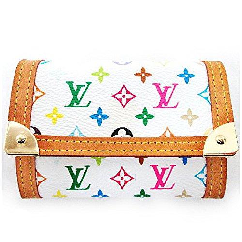 Louis Vuitton(ルイヴィトン) マルチカラー ポルトモネ.プラ ブロン 財布 [中古]