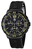 Tag Heuer Men 's cau111e。ft6024Formula 1アナログ表示クォーツブラック腕時計