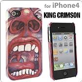 [Softbank iPhone 4/iPhone 4S専用]ケース キングクリムゾン/クリムゾン・キングの宮殿