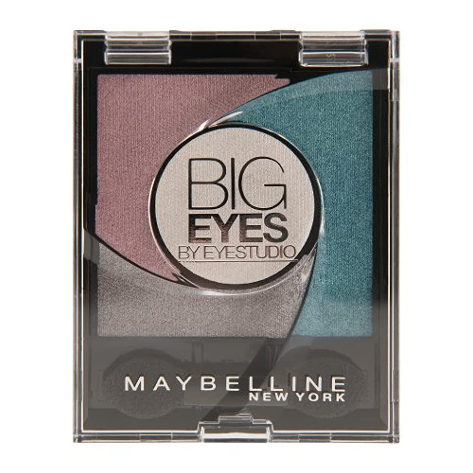 無駄に正しく勝利したMaybelline New York Lidschatten Eyestudio Big Eyes Palette Turquoise 03 / Eyeshadow Set in Türkis-Tönen mit Wet-Technologie...