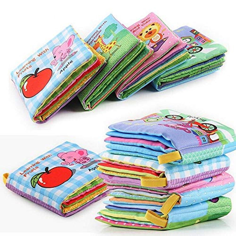 Domtie Baby 子供用 布製本 知育 知育 知育玩具 33403