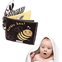 (A) - Oldeagle Baby Durable Cloth Book Kids Boys Girls Fun Toy Development Books Learning & Education Cloth Book (A)