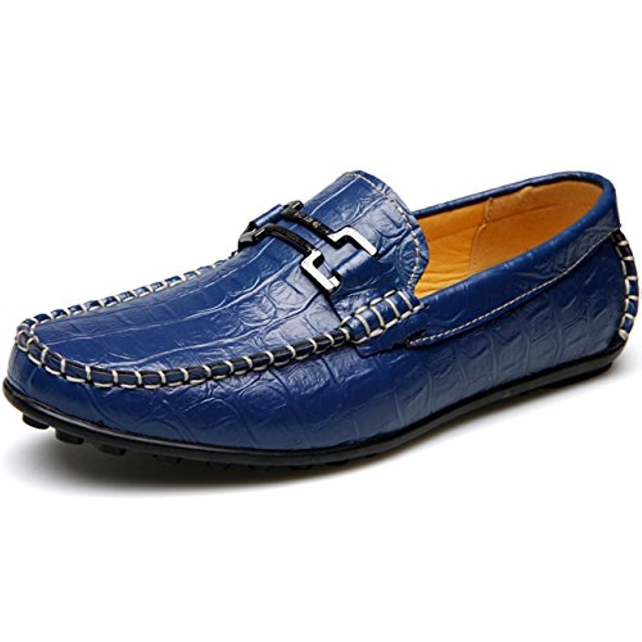 額六分儀最大限「トーフォズ」 Toofortze 皮靴 革靴 紳士靴 デッキシューズ レジャーシューズ カジュア ルローフ 海波麗 本革 牛革 ワニ柄 滑り止め 耐摩耗性 通気性 おしゃれ 超軽量 メンズ 四季
