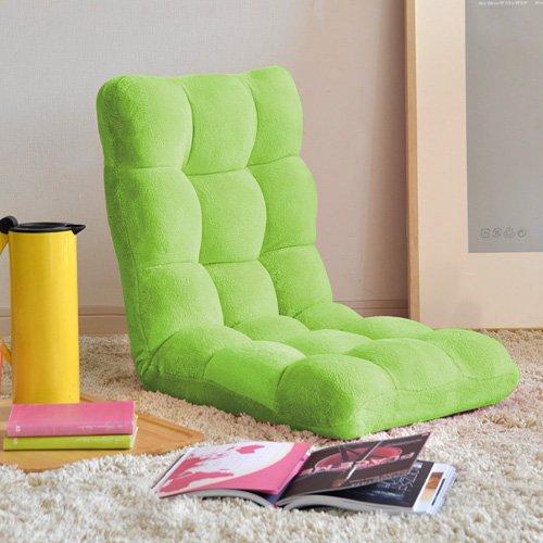 モコモコ座椅子 グリーン