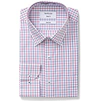 Van Heusen Men's Classic-Relaxed Fit Window Check Business Shirt