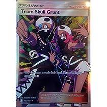 ポケモンカードゲーム 英語版 スカル団のしたっぱ/Pokemon Team Skull Grunt 149/149 Sun & Moon, Secret Rare