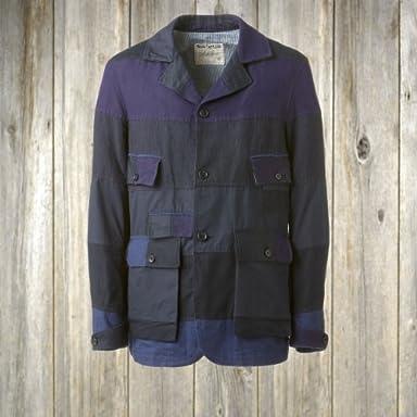 Waste (Twice) Hunter Jacket Patchwork: Navy