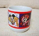 TDL東京ディズニーランドお正月湯呑み茶碗ミニーミッキー