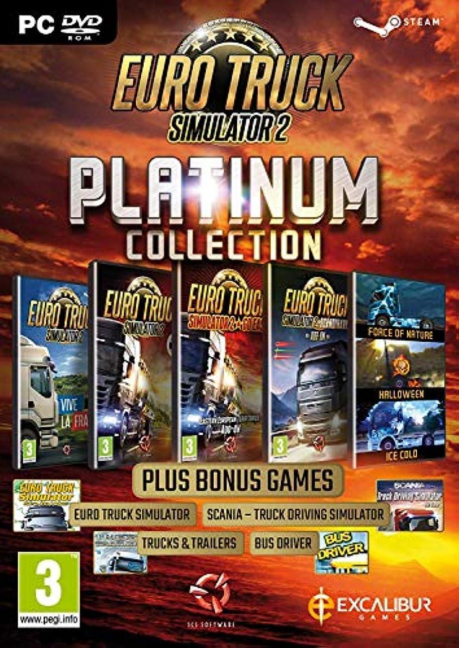 促進するメガロポリスペパーミントEuro Truck Simulator 2 - Platinum Collection (PC DVD) (輸入版)