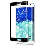 Galaxy Note Edge フィルム 3D曲面加工 全面保護 docomo SC-01G au SCL24 ガラスフィルム 表面硬度9H 高透過率 指紋防止 Samsung ギャ..