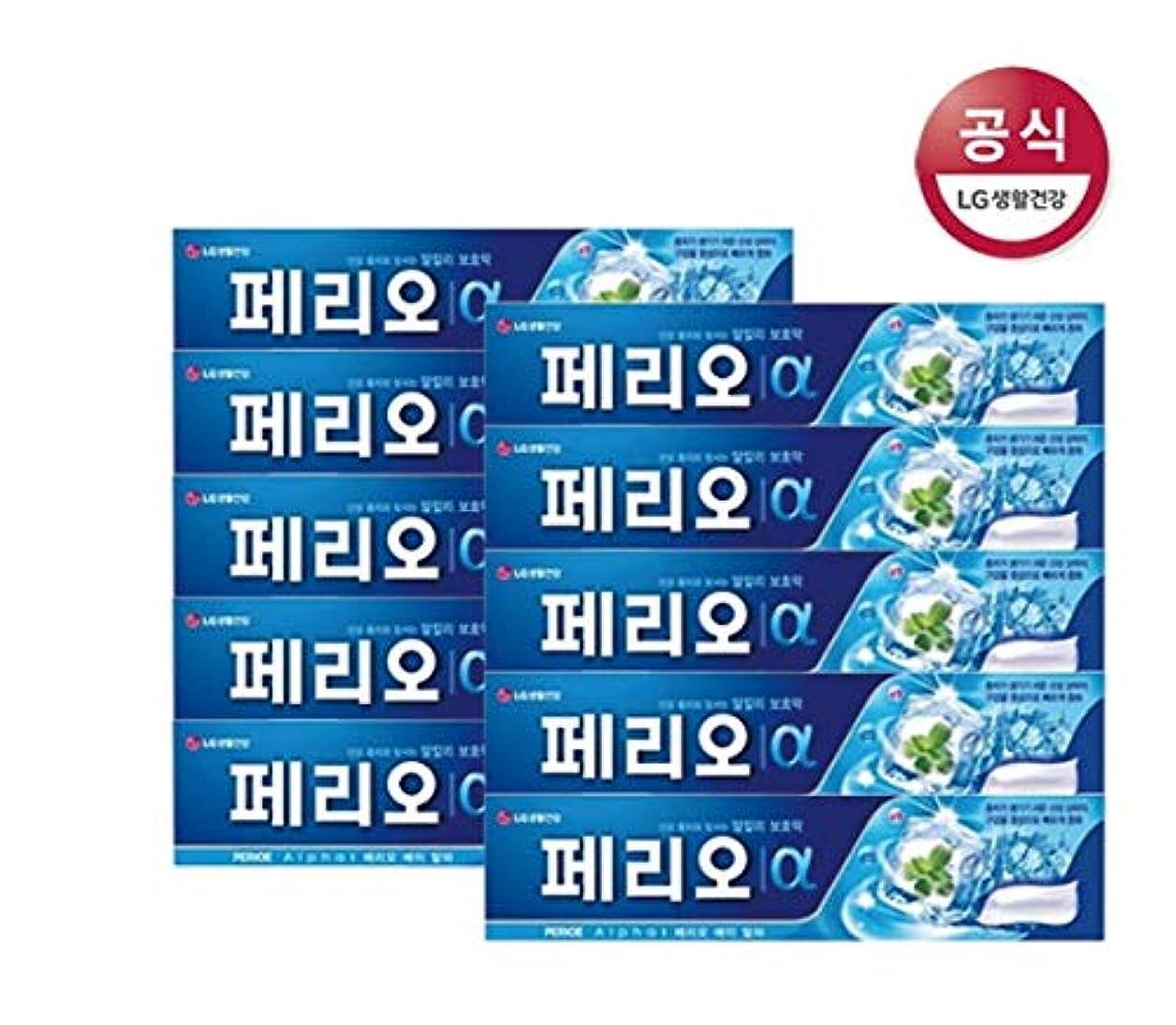 進捗アレルギー性活気づける[LG Care/LG生活健康]ペリオアルファ歯磨き粉170g x10個/歯磨きセットスペシャル?リミテッドToothpaste Set Special Limited Korea(海外直送品)