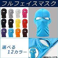 AP フルフェイスマスク ドライ素材 ライトグレー AP-FFMASK-LGY