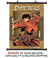 Driftersアニメファブリック壁スクロールポスター( 16x 23)インチ