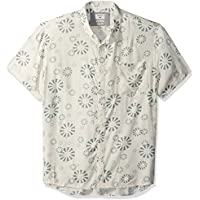 Quiksilver Mens Men's Variable Shirt Short Sleeve Dress Shirt
