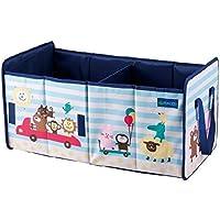 トランク 収納 ボックス ブルー KN-13723