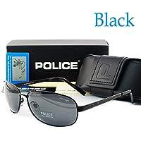 New New Police Men's Polarised Sunglasses Driving Glasses ++AU Seller Type 1: Black